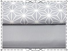 Baumwolle rein - Baumwolle Canvas,halbpanama, uni grau - ein Designerstück von imagine-shop bei DaWanda