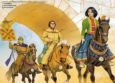 Iran Politics Club: Pictorial History of Iranian Military Uniforms 13: Sassanian