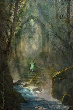 'Der Ruf' von Marie Luise Strohmenger bei artflakes.com als Poster oder Kunstdruck $19.41