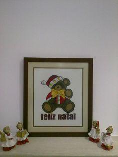 Natal - urso (feito mim, tenho esquema)