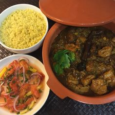 Chicken Tagine with Dates and Apricots