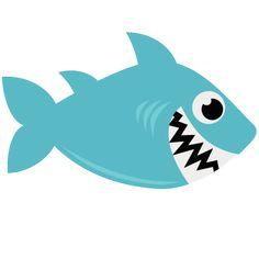 Shark SVG file for scrapbooking