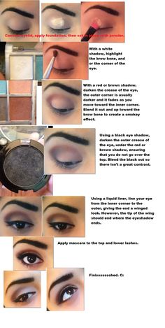 Easy Make-Up Tutorial by ~ArtsRinascita on deviantART