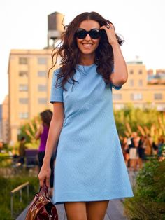 Classic Chic Style: Shift Dresses
