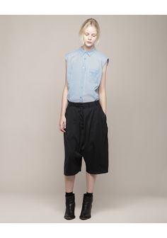 Acne / Keen Suit Slouchy Long Shorts