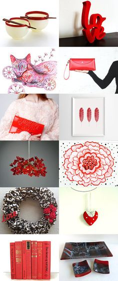RED HOT by The Rustic Home on Etsy--Pinned with TreasuryPin.com