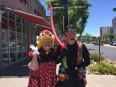 Silly Willy and Sweet Petunia at Shane's Rib Shack at Westgate. Magic Tricks, Petunias, Clowns, Special Events, Balloons, Daughter, Sweet, Party, Fun