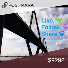 Follow Game! 1. LIKE this post 🌷 2. SHARE this post 🌷 3. FOLLOW me 🌷 4. FOLLOW all that like this post 🌷 5. TAG a friend! *If you use my picture please give credit to me* POSHMARK Bags