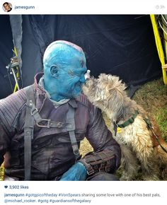 Guardians of the Galaxy | Behind the Scenes - James Gunn on Instagram