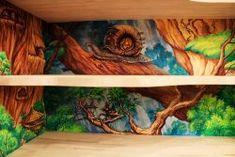 #интерьер #детская #росписьстен #росписьдетской #комната #рисунокнастене #улитка #сказка #детство #москва #interiordesign #wallart #walldecor #kidsroom #livingroom #art #художник http://decoration-of-space.ru