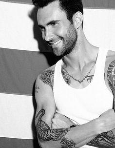 Adam Levine....love him...all of it