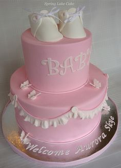adorable Baby Shower Cake