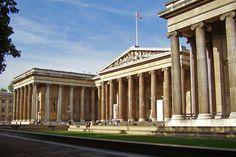 80. British Museum. Robert Smirke(1824-47) Las columnas recubren las fachadas de los distintos cuerpos.