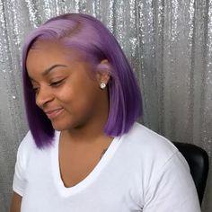 ❗️❗️✨✨ Give credit sus. Purple Hair Black Girl, Long Gray Hair, Green Hair, Blue Hair, Dyed Hair Purple, Pastel Hair, Pastel Pink, Baddie Hairstyles, Weave Hairstyles