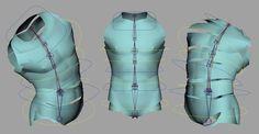 Maya rigging_Introduction to rigging a human torso_01