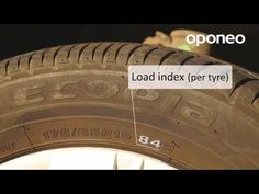 Tyre markings ● Hints from Oponeo™ - YouTube