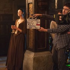 We didn't have these on the site, so we decided to post them all in a big batch. Here are all the behind the scene pics of the cast on the set of Outlander. More after the jump! –…
