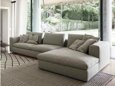 LAND | Sofa with chaise longue