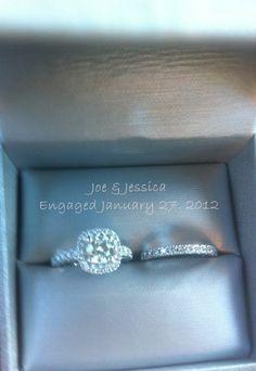 my wedding ring set :)