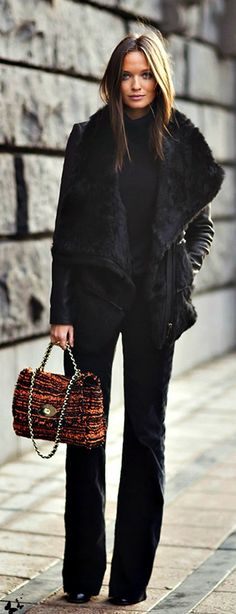 Casual black - Style.