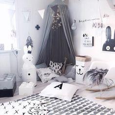 """how magical and inspiring is this place? amazing job by @josefinidadanielsson ♡ #petitepoire #babies #trendy #babyroom #montessori #babyfashion #pretty…"""