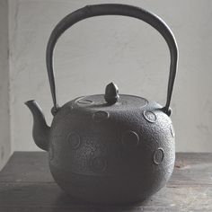 Japanese Nanbu iron kettle...