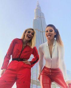 Lele y Hanna Stocking in Dubai