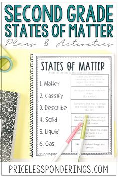 Need some engaging digital resources to teach activities on states of matter to your second graders? Your class will love using these fun science google slides. Vocabulary Word Walls, Vocabulary Cards, Matter Activities, Science Activities, Matter Worksheets, Properties Of Matter, States Of Matter, Matter Science, Teaching Materials