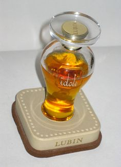 Lubin Idole Perfume - Quirky Finds Vintage