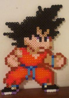 Goku Perler bead