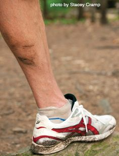 What Mud on Your Calves Means for Your Form | Running Times