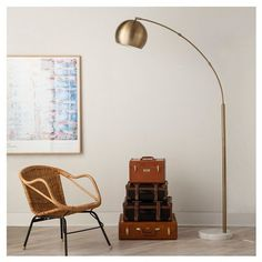 Pin for Later: 35 Gifts Midcentury-Modern-Lovers Will Go Gaga Over  Arc Floor Lamp ($130)