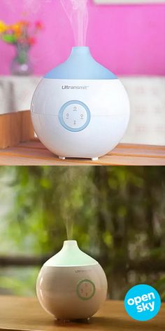 This soothing ultrasonic diffuser, humidifier and purifier is a year-long essential to not only help naturally moisturize your skin, but also purify the air and fill it with a relaxing scent. With 2 free essential oils included and different color options to choose from, this 3-in-1 wonder does it all and you'll immediately benefit from having cleaner air to fight allergies as well as a better night's sleep, headache relief, and more.