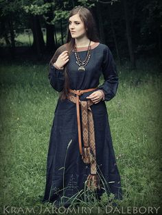 Viking/Slavic costume by Jaromira.deviantart.com on @DeviantArt