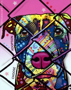 HeARTs Speak uses the power of art to effect social change. <3 They unite artists with shelters and animal relief organizations in order to save the lives of animals and better the lives of people. An artist can be a life-changer, an animal can live a long, happy life, and that is priceless. http://heartsspeak.org/