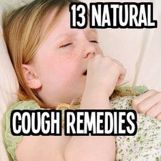 13 Natural Cough Remedies