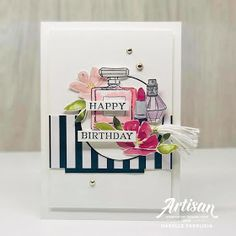 The Effective Pictures We Offer You About DIY Birthday Cards cake A quality picture can tell you many things. You can find the most beautiful pictures that can be presented to you about DIY Birthday C Diy Birthday, Birthday Cards, Happy Birthday, Mini Sales, Homemade Cards, Stampin Up Cards, I Card, Making Ideas, Nice Dresses