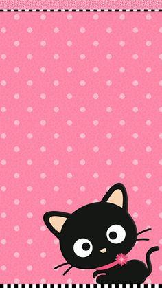 Trendy Wallpaper Iphone Pink Wallpapers Hello Kitty Ideas Source by Pink Wallpaper Hello Kitty, Cute Wallpaper For Phone, Pink Wallpaper Iphone, Pink Iphone, Cat Wallpaper, Trendy Wallpaper, Animal Wallpaper, Cellphone Wallpaper, Disney Wallpaper