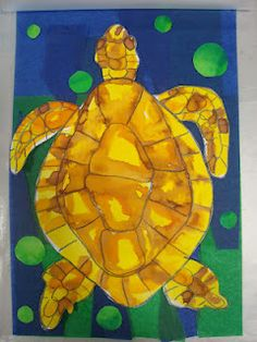 Once upon an Art Room: Turtles