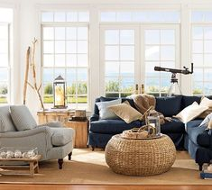 Carlisle Upholstered Armchair | Pottery Barn love this sofa and chair