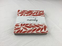 Merrily Charm Packs by Gingiber for Moda  #spreadthelove #ruler #quilting #newstuff