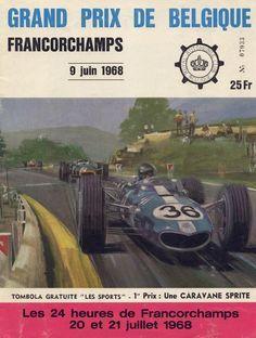 1968 GP de Belgica en Spa-Francorchmaps