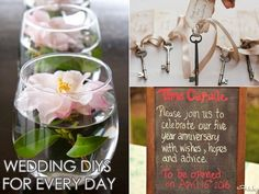9 Pinterest Wedding DIYs You Can Repurpose For Real Life