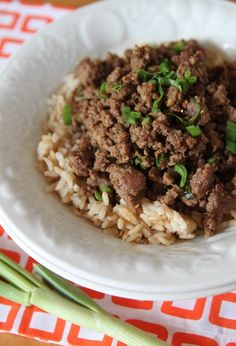 Sweet and Spicy Beef = definitely doing this - quick, easy and yummy!