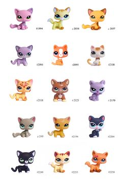 LPS shorthair cats