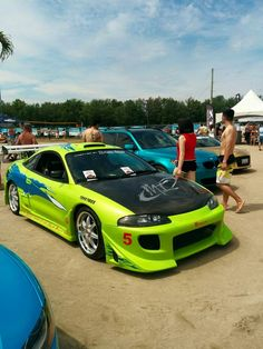 Mitsubishi Eclipse, Paul Walker Car, Mini Morris, Street Racing Cars, Drifting Cars, Import Cars, Japanese Cars, Jdm Cars, Fast And Furious