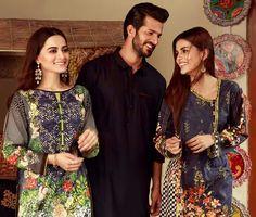 Beautiful Aiman Khan, Shehzad Noor and Faiza Ashfaq Eid Collection 2017 Photoshoot of Edenrobre! #AimanKhan #ShehzadNoor #FaizaAshfaq #SummerCasual #SummerEidCollection #EidCollection17 #PakistaniFashion #PakistaniCelebrities