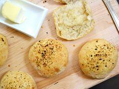 Easy focaccia rolls