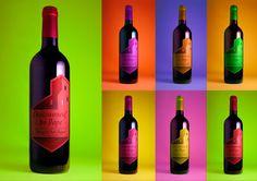 étiquettes vin Nicolas par Pickthall
