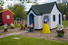 Storybook Island in Rapid City, South Dakota is a free park open to the public.